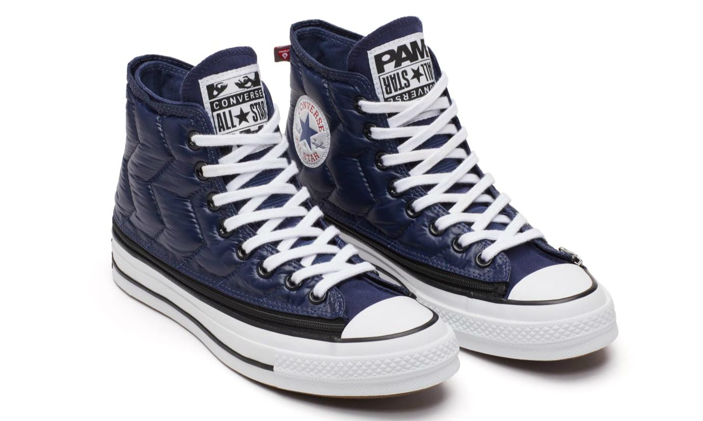 穿外套的鞋?P.A.M. x CONVERSE 联名系列即将发售