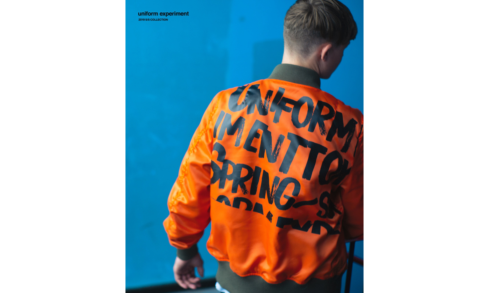 uniform experiment 2019 春夏系列 Lookbook 释出