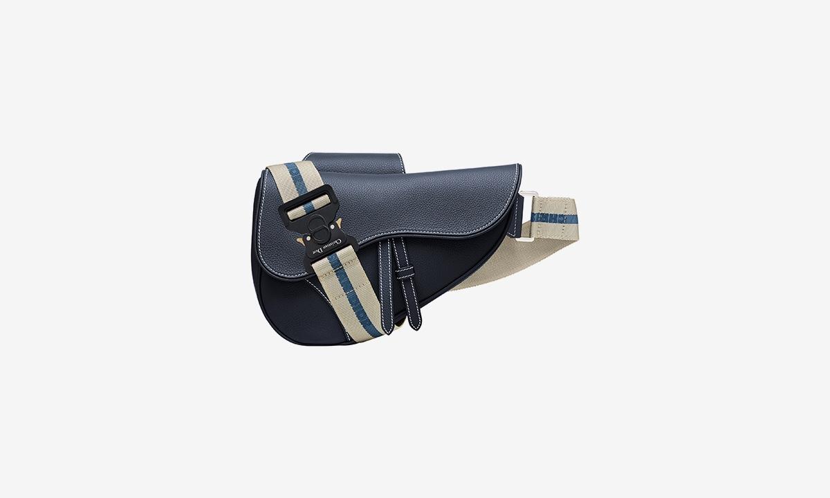 加入 ALYX 经典带扣!Dior 男士马鞍包上线
