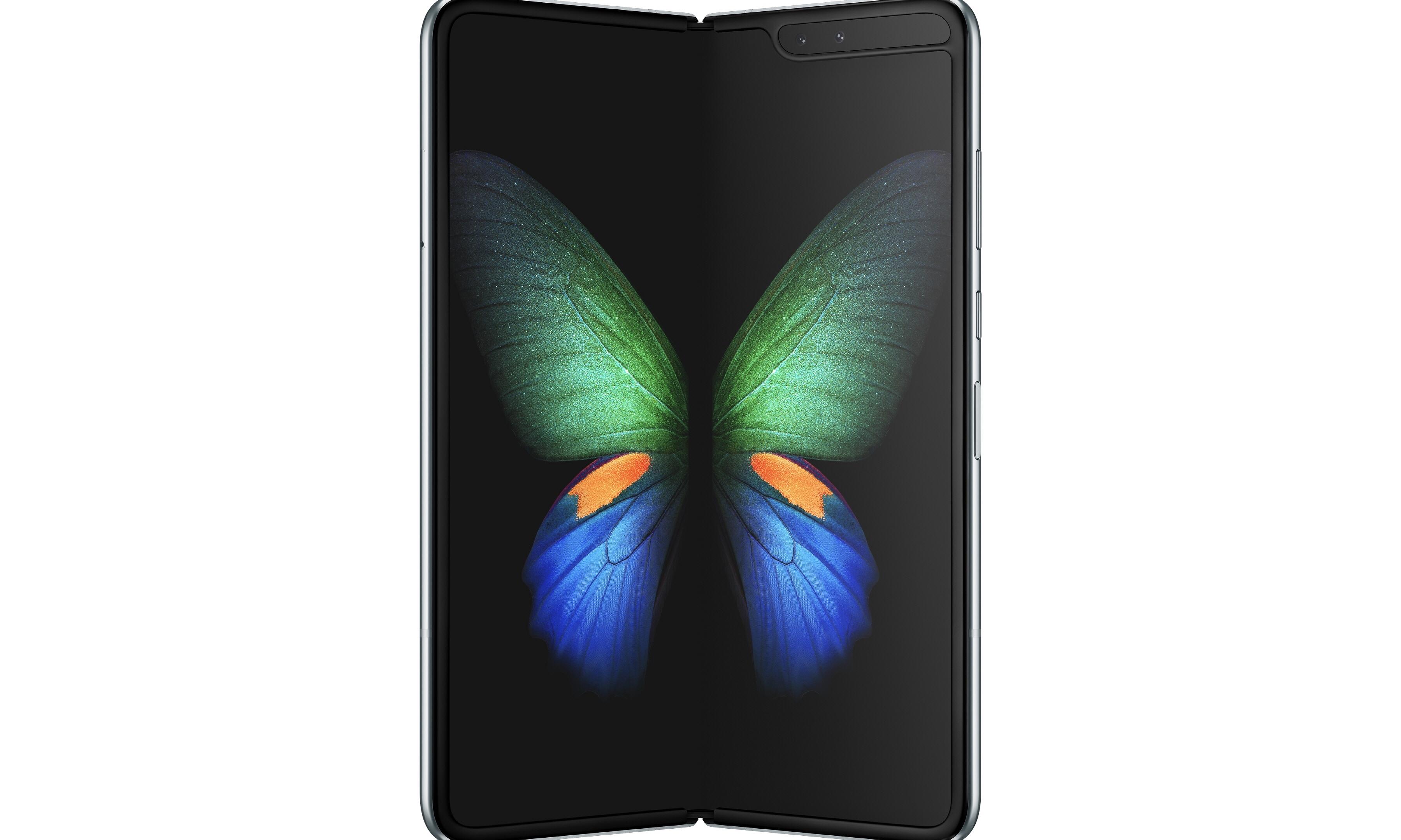 惊艳设计!Samsung 全球首发量产折叠屏手机