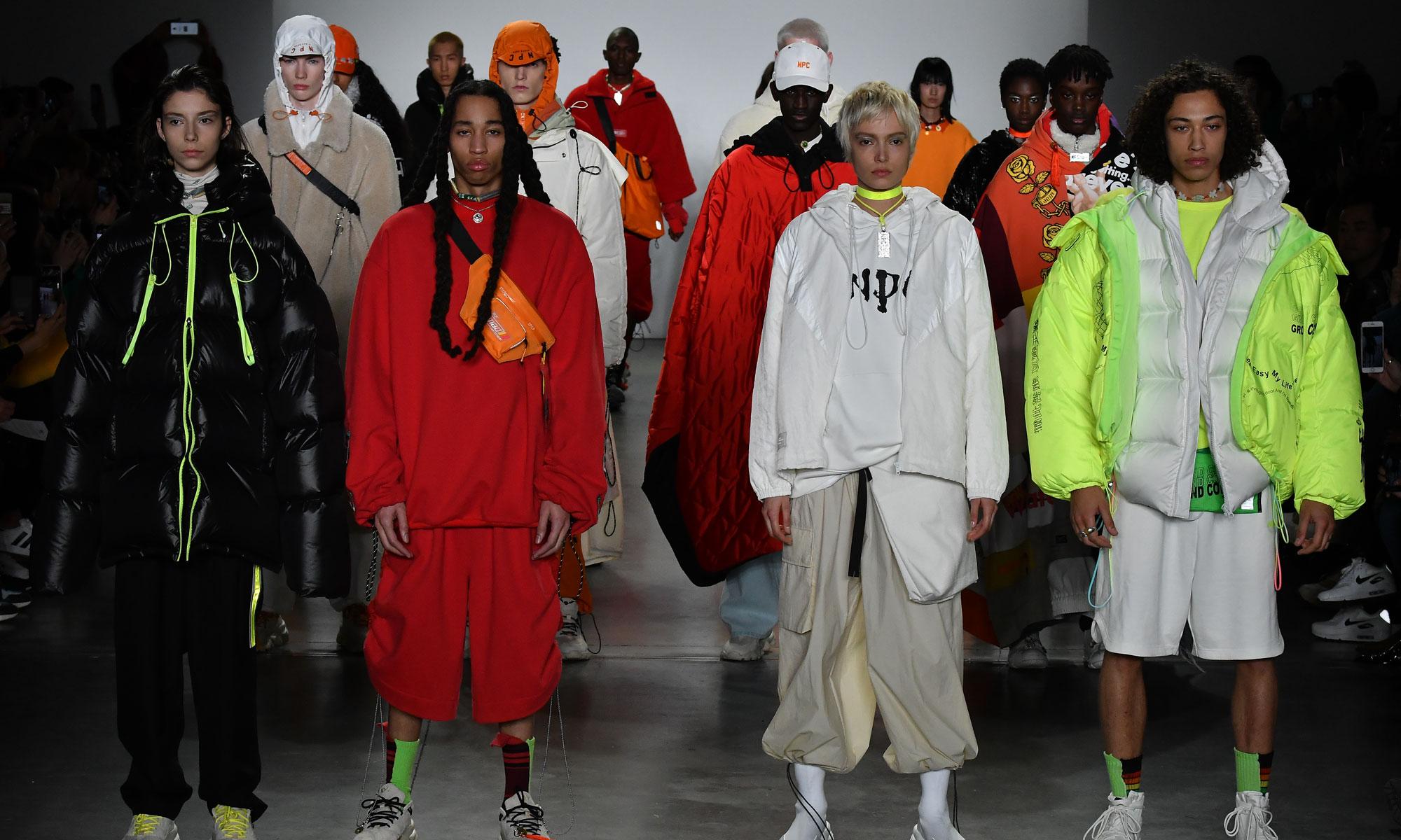 适逢 10 周年,NPC 在时装周上向世界介绍了几个国潮