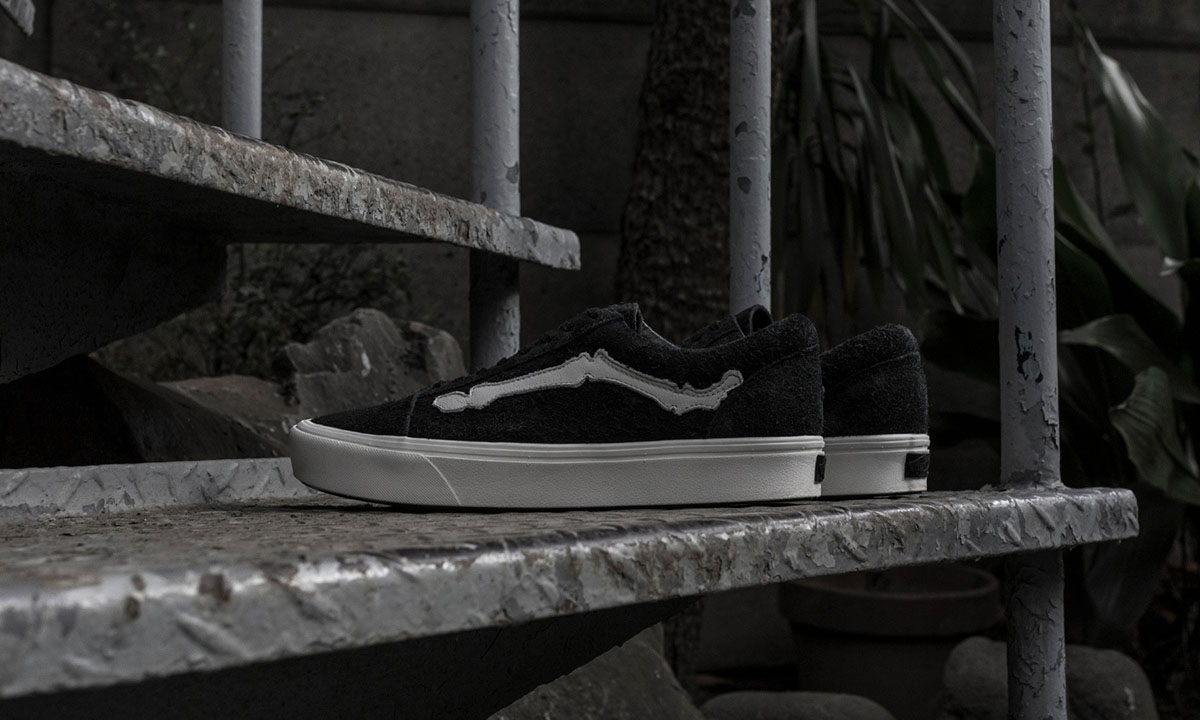 Blends x Vans Vault 全新联名 Old Skool ComfyCush LX 系列登场