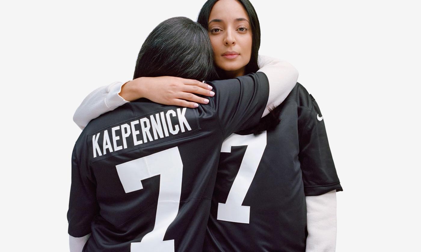 Nike 为 Colin Kaepernick 推出别注衫