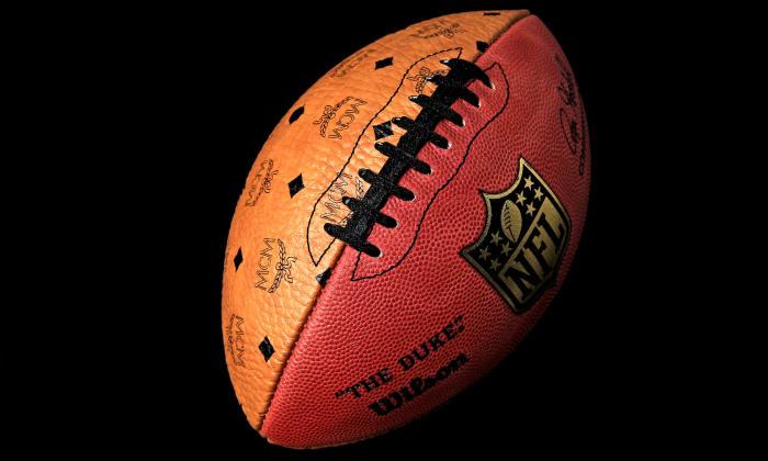 MCM x Wilson Sporting Goods 发售品牌印花橄榄球