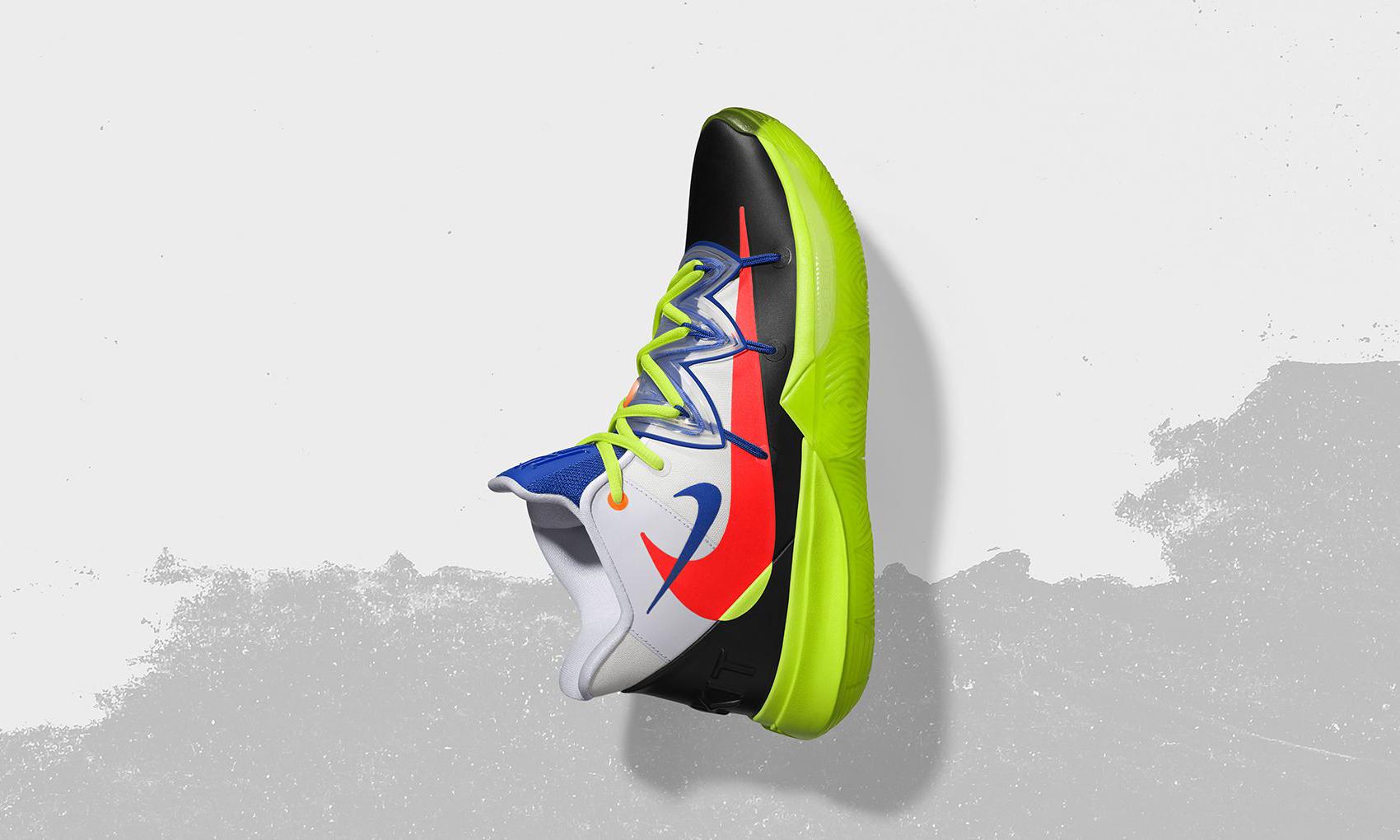 致敬篮球和滑板,ROKIT x Nike Kyrie 5 正式登陆国区 SNKRS