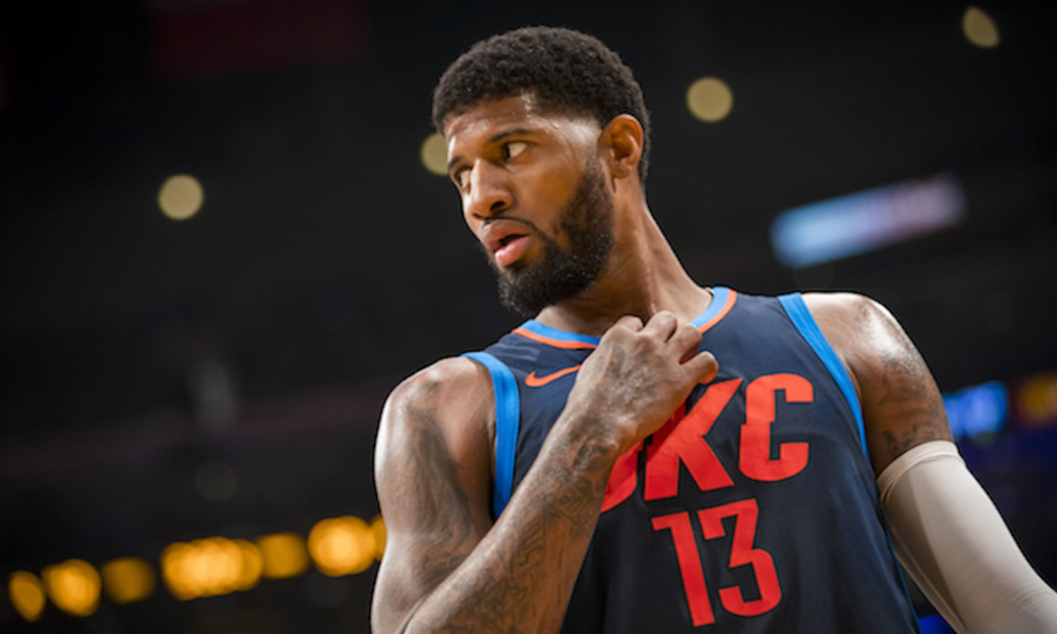 Paul George 本人首次回应 Zion Williamson 事件