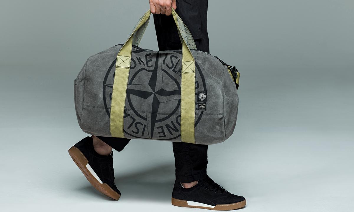 Stone Island x PORTER 联名包袋系列发售
