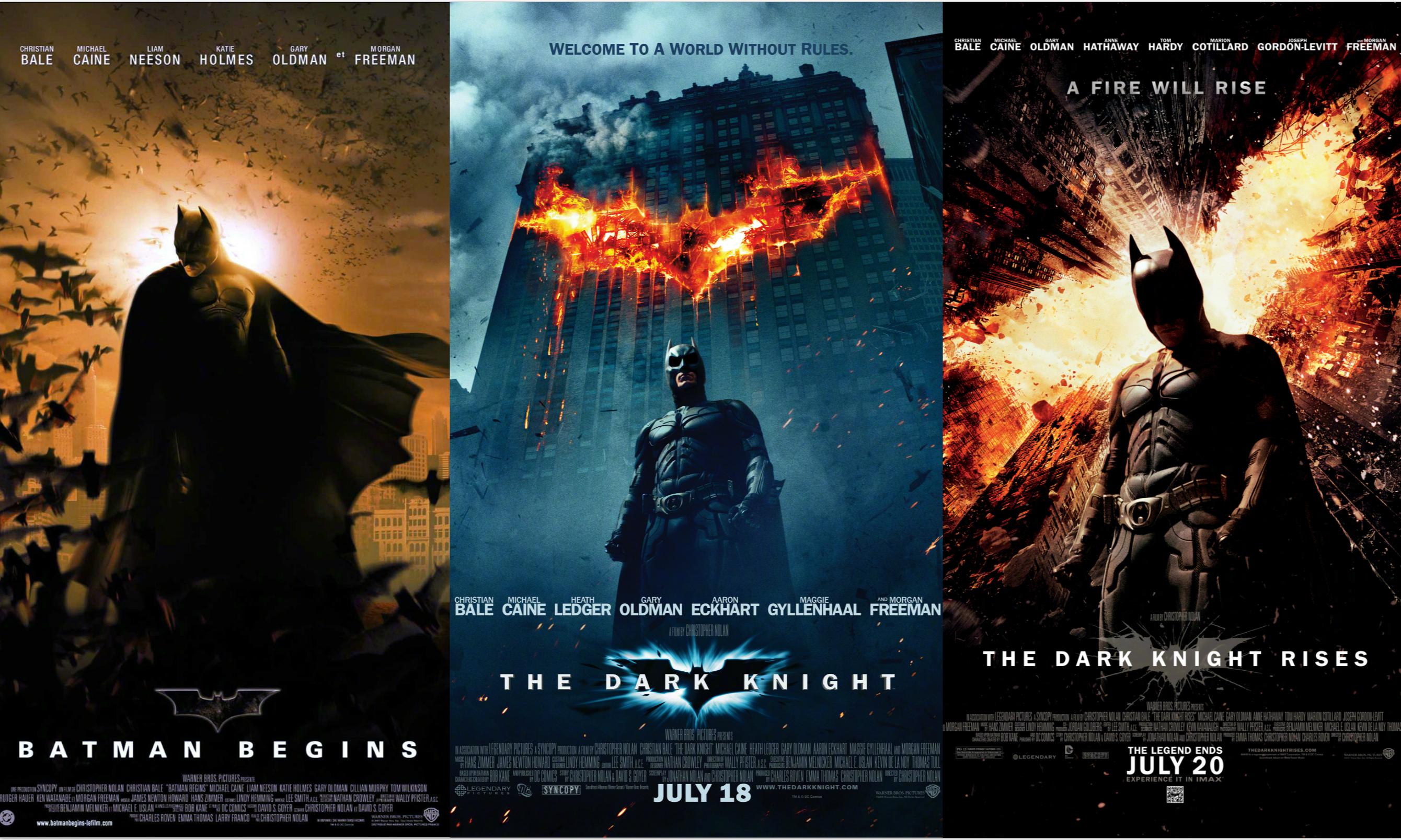 诺兰执导蝙蝠侠《黑暗骑士》三部曲将以 IMAX 70mm 胶片格式在北美重映