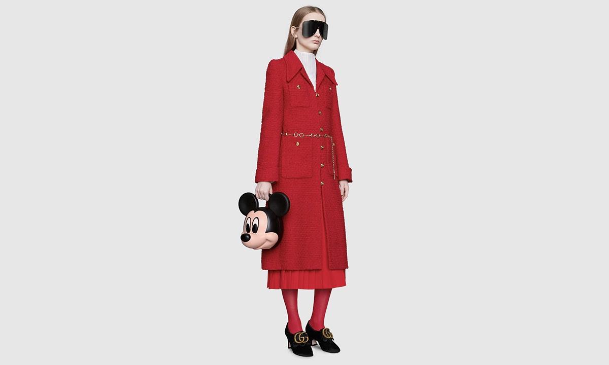 Mickey 诞辰 90 周年,Gucci 推出 3D 打印卡通造型包