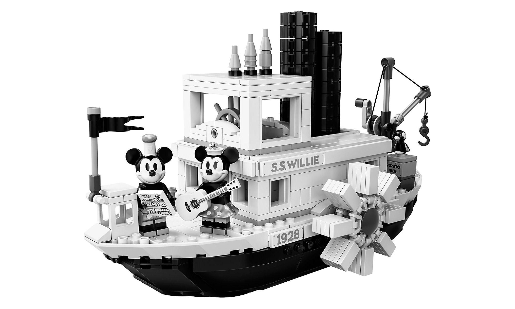 重现 1928 年经典,LEGO 21317 威利号汽船即将发售