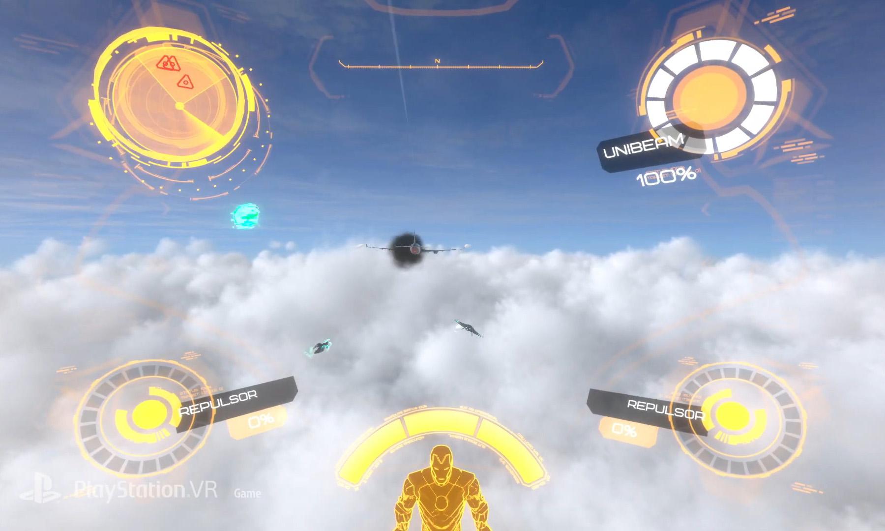 索尼与漫威联合打造 PS4 独占 VR 游戏《钢铁侠 VR》