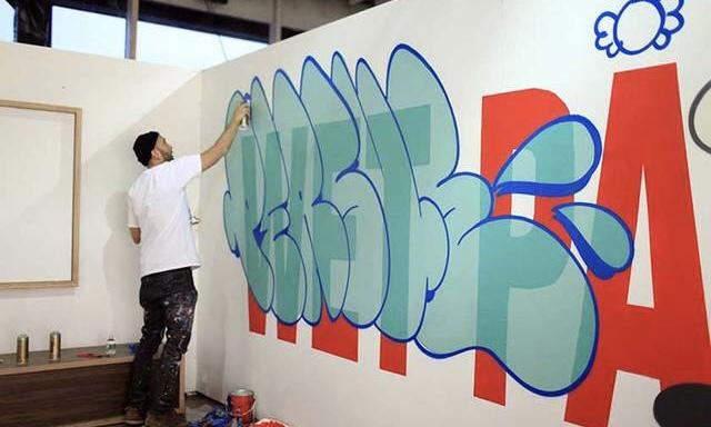 """美国街头艺术家 Persue """"Wet Paint"""" 巡展东京开展"""