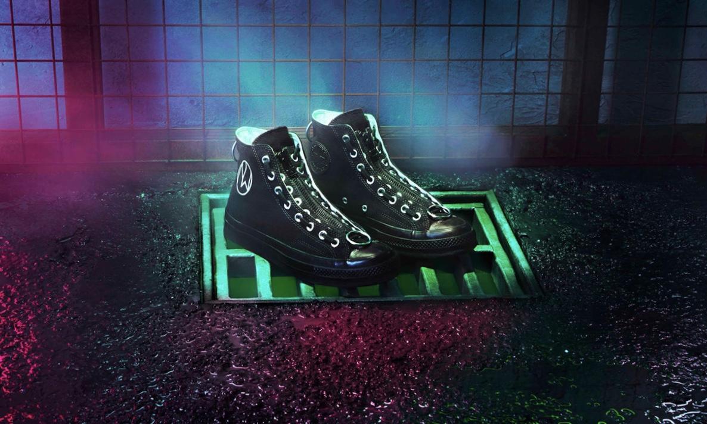 UNDERCOVER x CONVERSE 全新 Chuck 70 联名帆布鞋释出