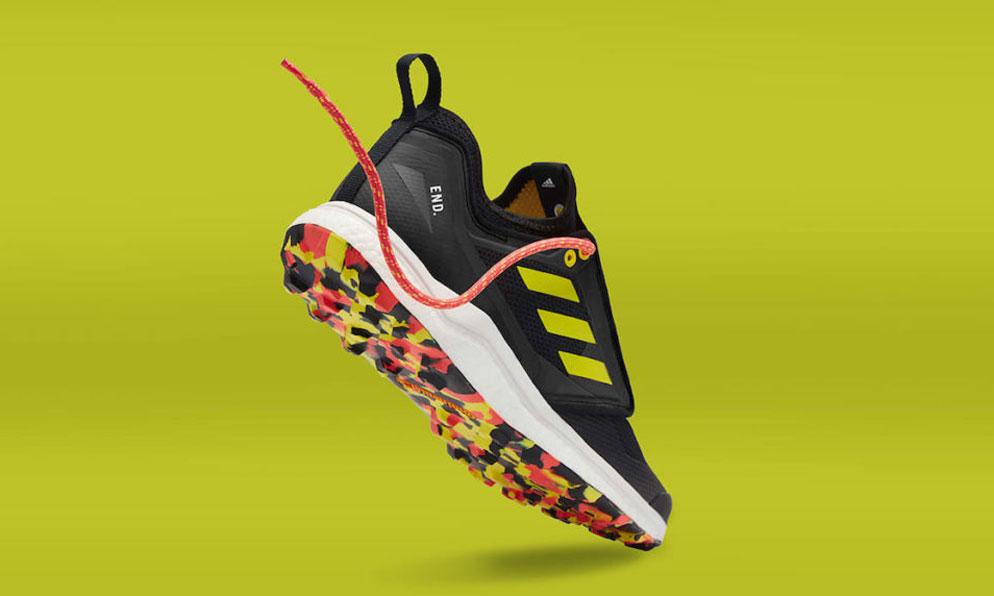 会变色的鞋子,END. x adidas 推出 Terrex Agravic XT 鞋款