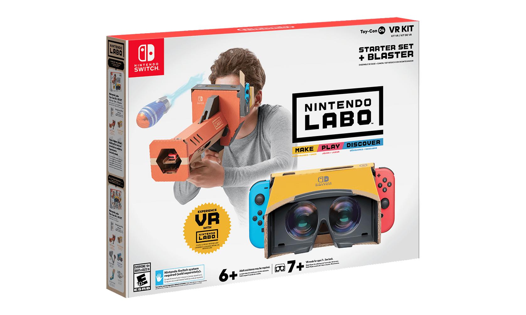 Nintendo 推出可用于 Switch 的 VR 套件