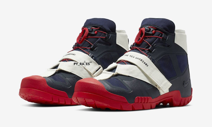 UNDERCOVER x Nike 联名登山鞋曝光