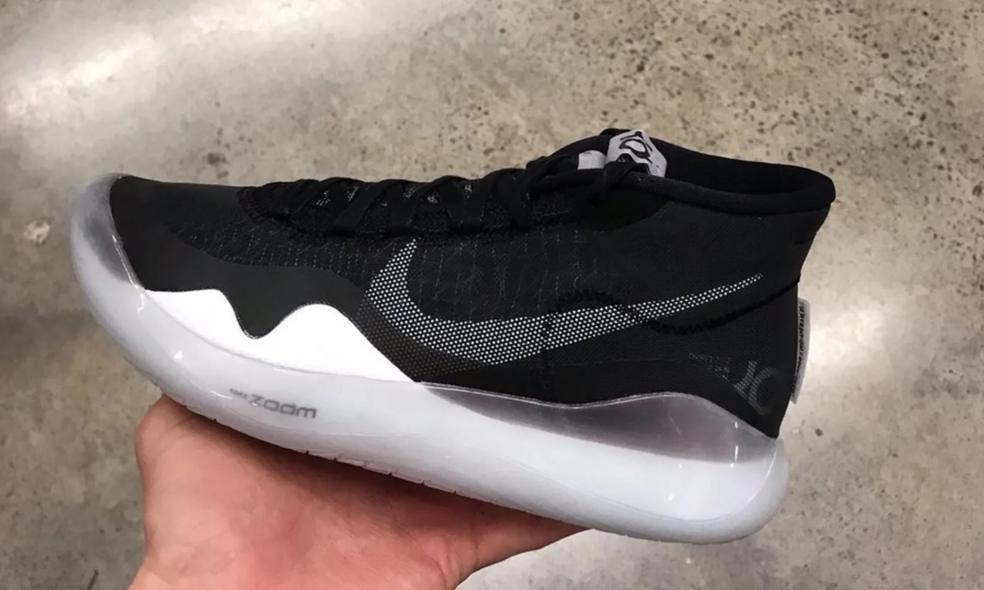 新一代杜兰特战靴?Nike KD 12 清晰谍照现身