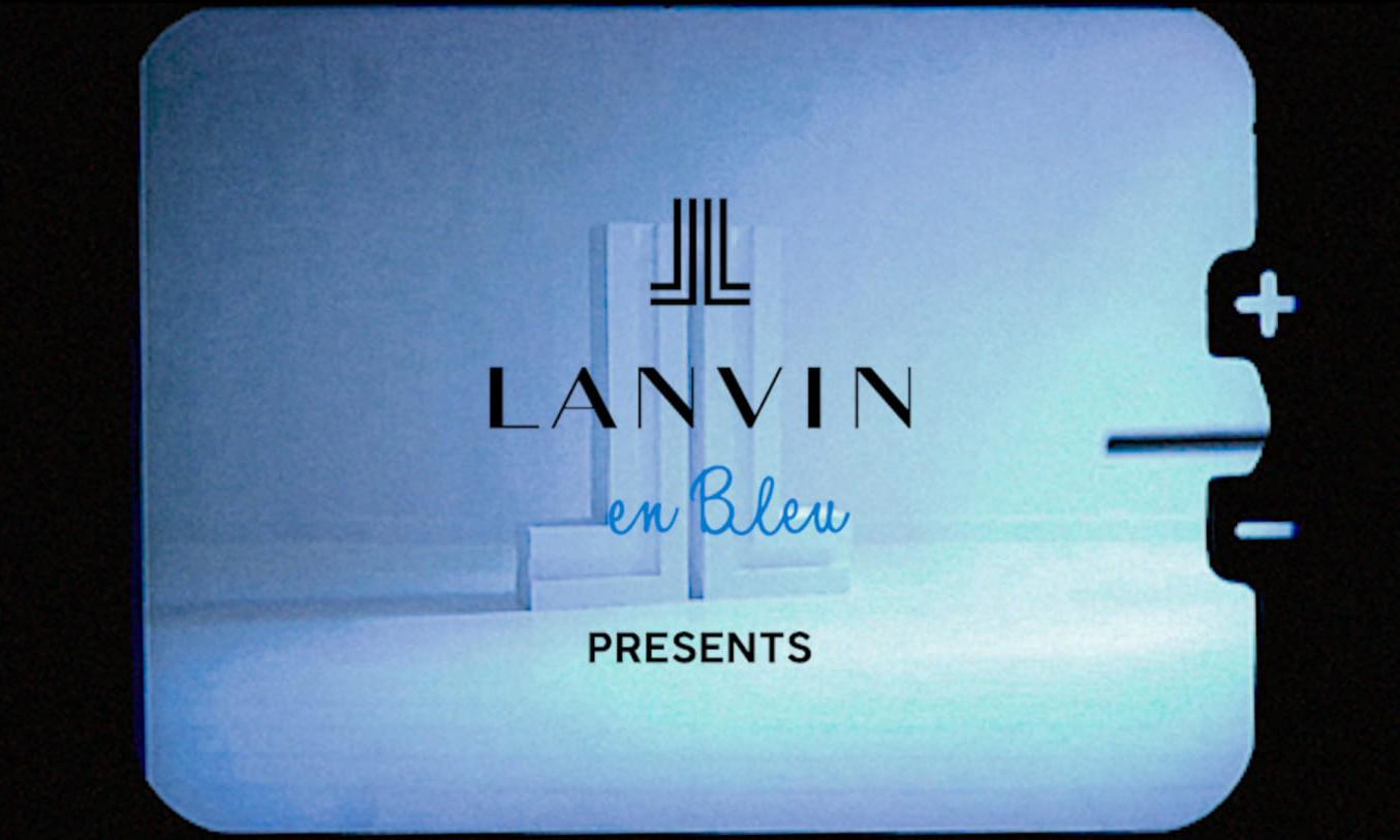 LANVIN en Bleu 东京呈现展览《L'ATELIER》
