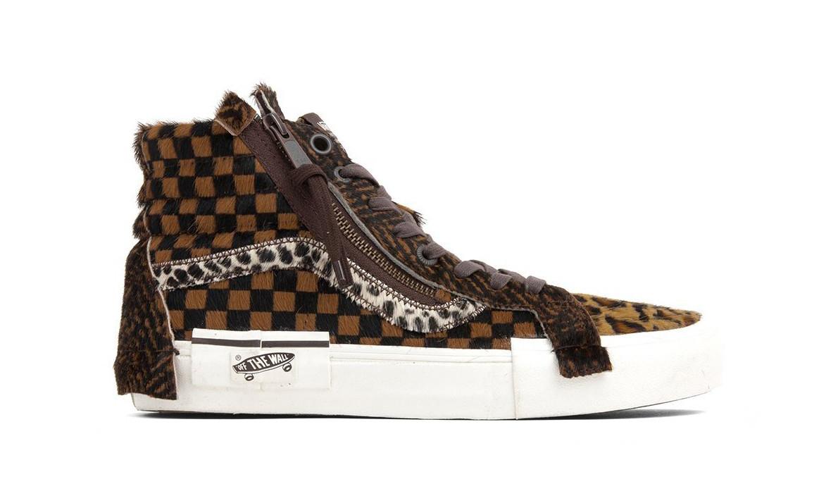 "Vans Vault 发售 ""混装"" 版小马毛系列板鞋"