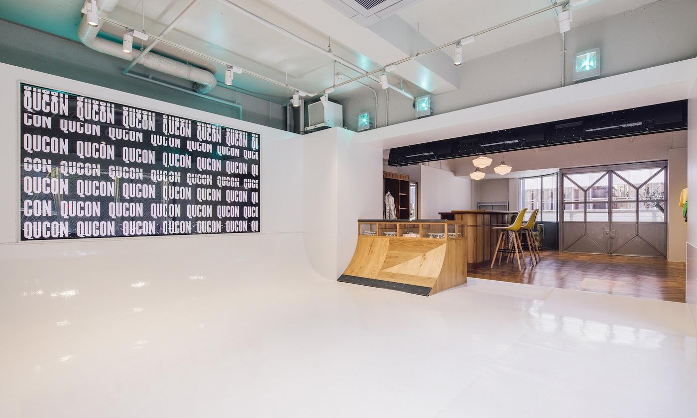 东京文化场景新势力,Qucon 空间即将开幕