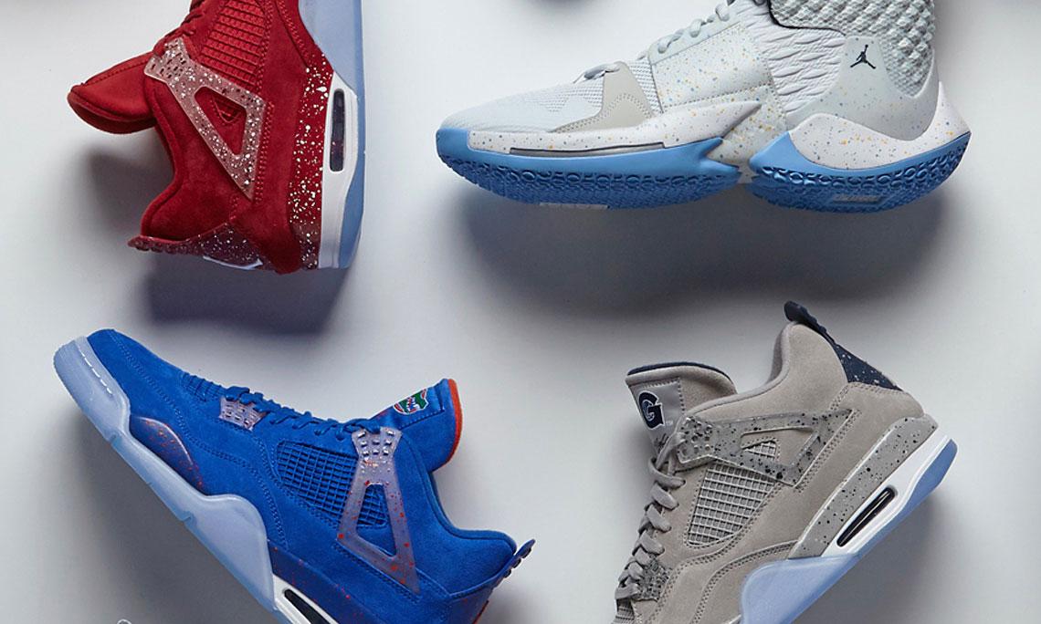疯狂三月来临,Jordan Brand 为旗下 6 只球队打造专属战靴