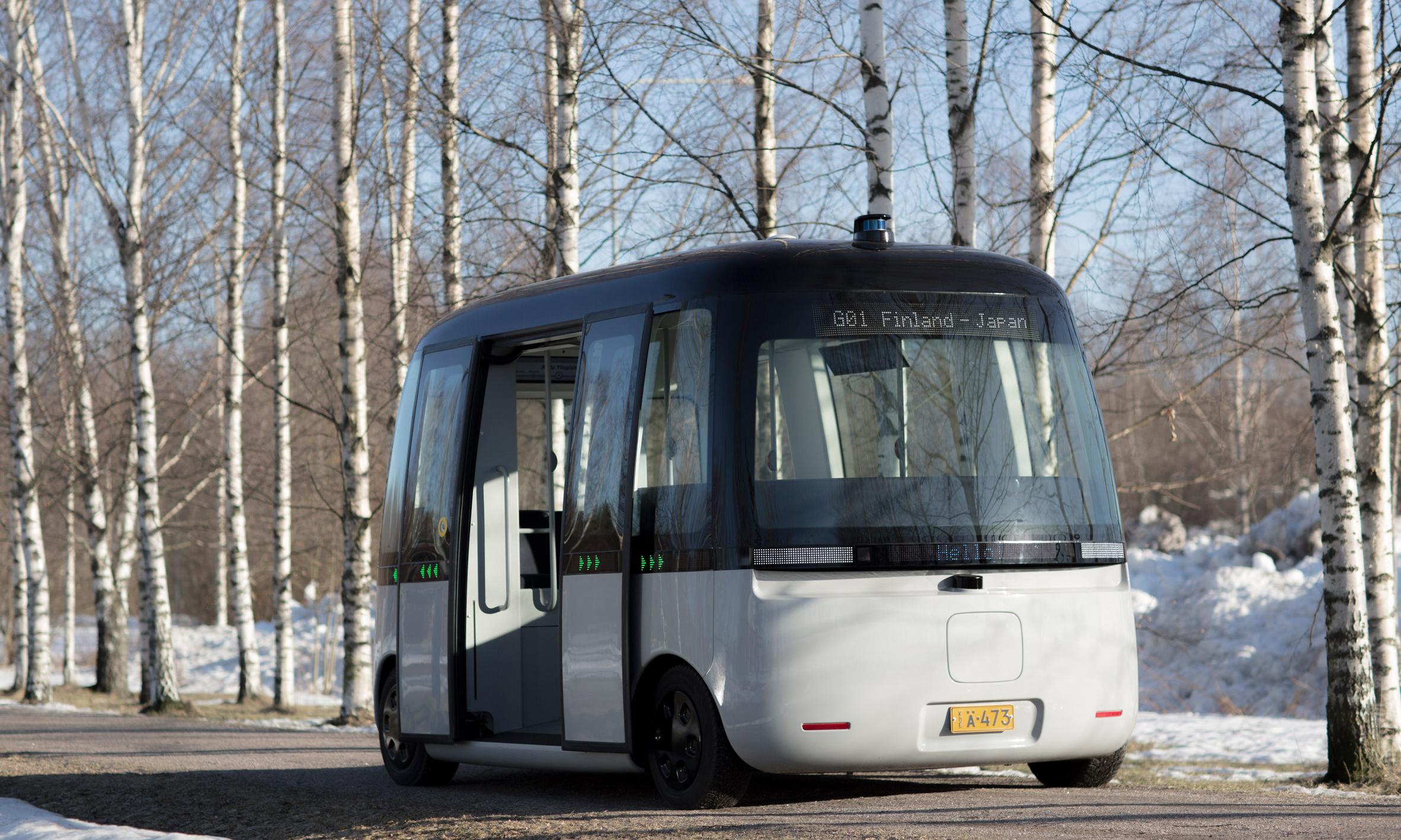 灵活应对恶劣天气,MUJI x Sensible4 自动驾驶巴士完成首次上路