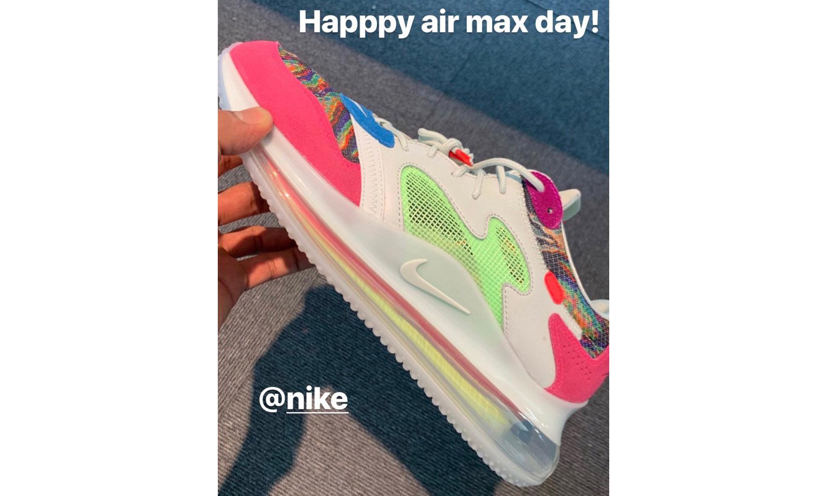 Odell Beckham Jr. 预告与 Nike 联名款 Air Max 720