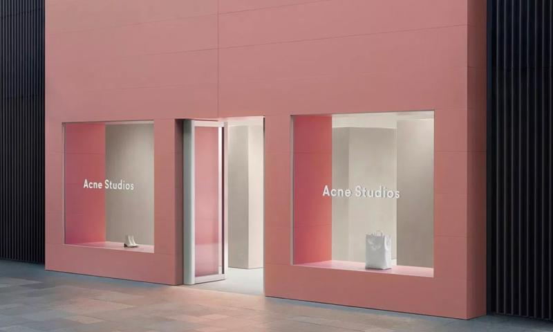 购物打卡新去处,Acne Studios 全新门店落地成都
