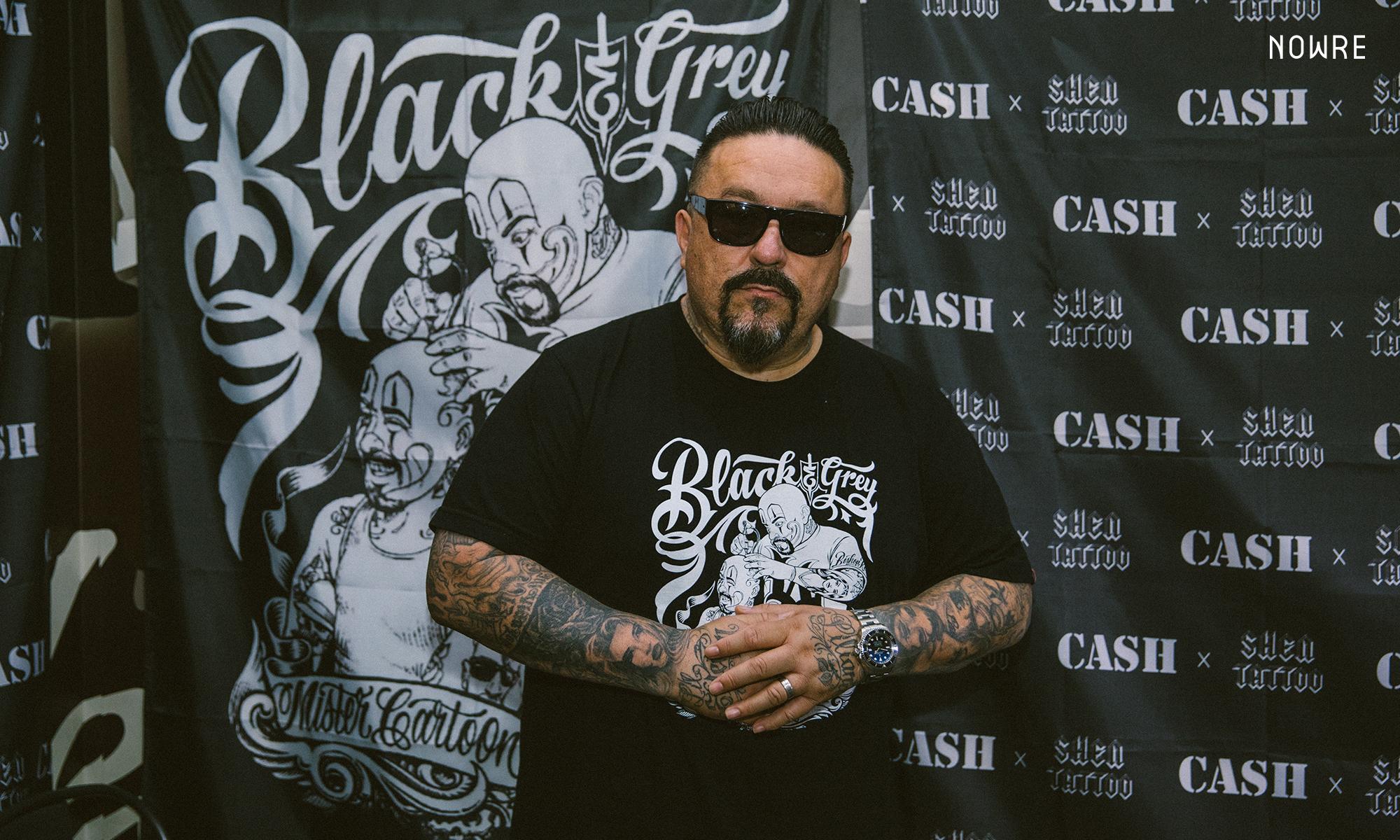 洛杉矶著名纹身艺术家 Mister Cartoon 上海 Pop-up 正在进行中
