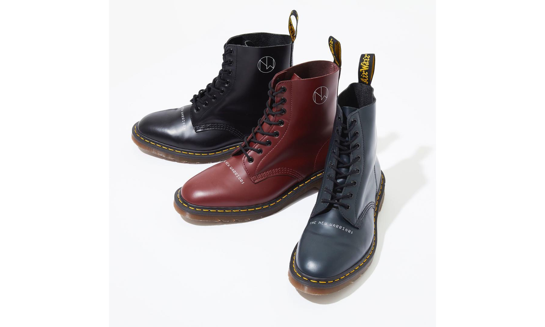 "UNDERCOVER x Dr.Martens 联乘 ""The New Warriors"" 系列靴款正式上架"