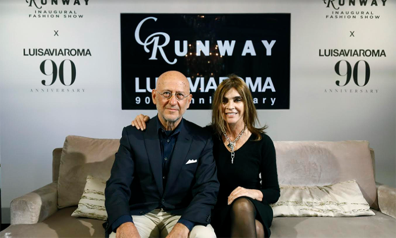 LUISAVIAROMA 将与 Carine Roitfeld 合作其首个时装秀