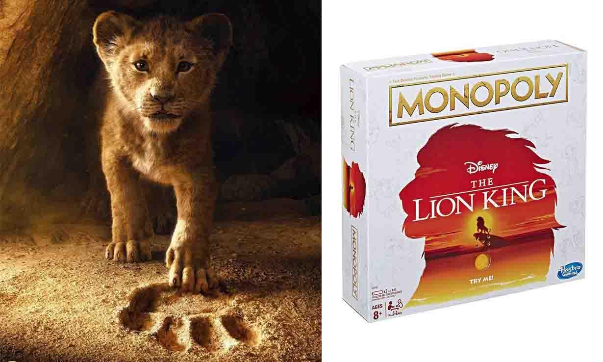 有辛巴、丁满和彭彭?大富翁推出《狮子王》版本