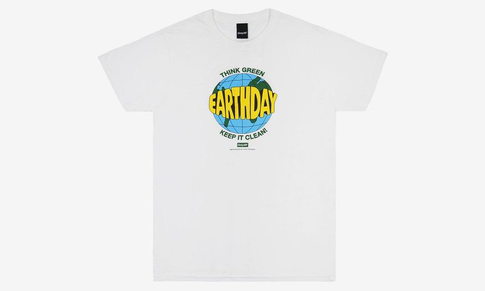 Only NY 为世界地球日推出公益 T-Shirt