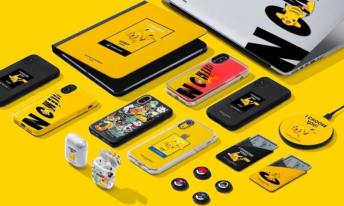 迎接真人电影上映,Pokémon 与 CASETiFY 联合推出电子周边产品系列