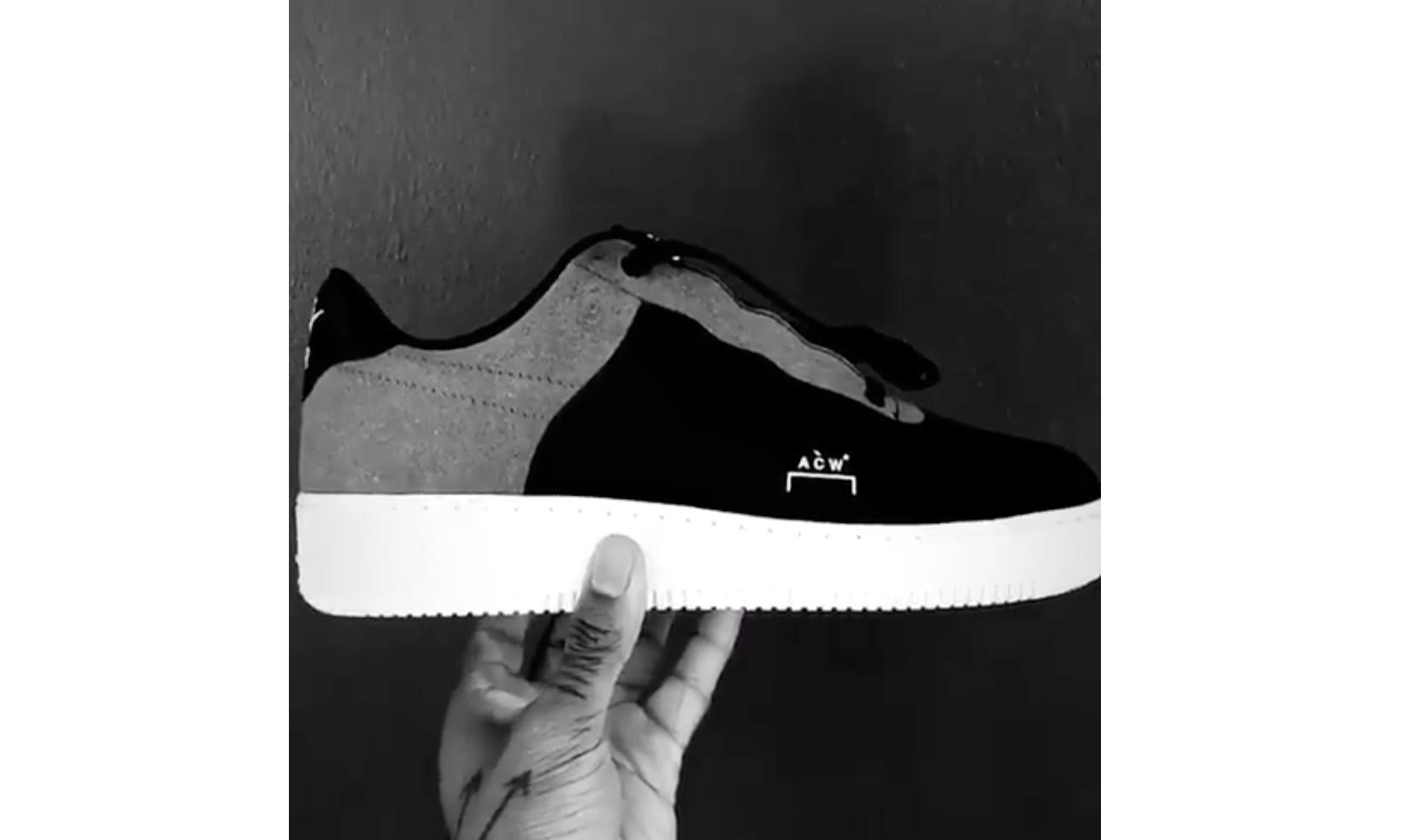 Samuel Ross 曝光 A-COLD-WALL* x Nike AF1 新配色