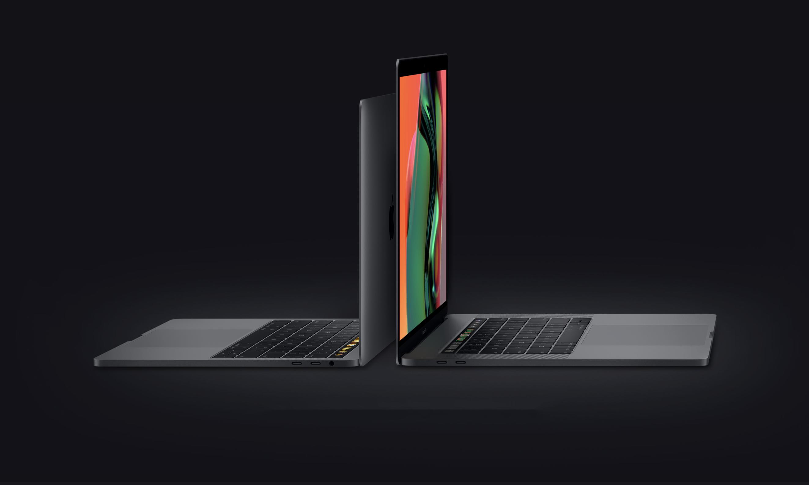 苹果发布新款 8 核 MacBook Pro,改良蝶式键盘