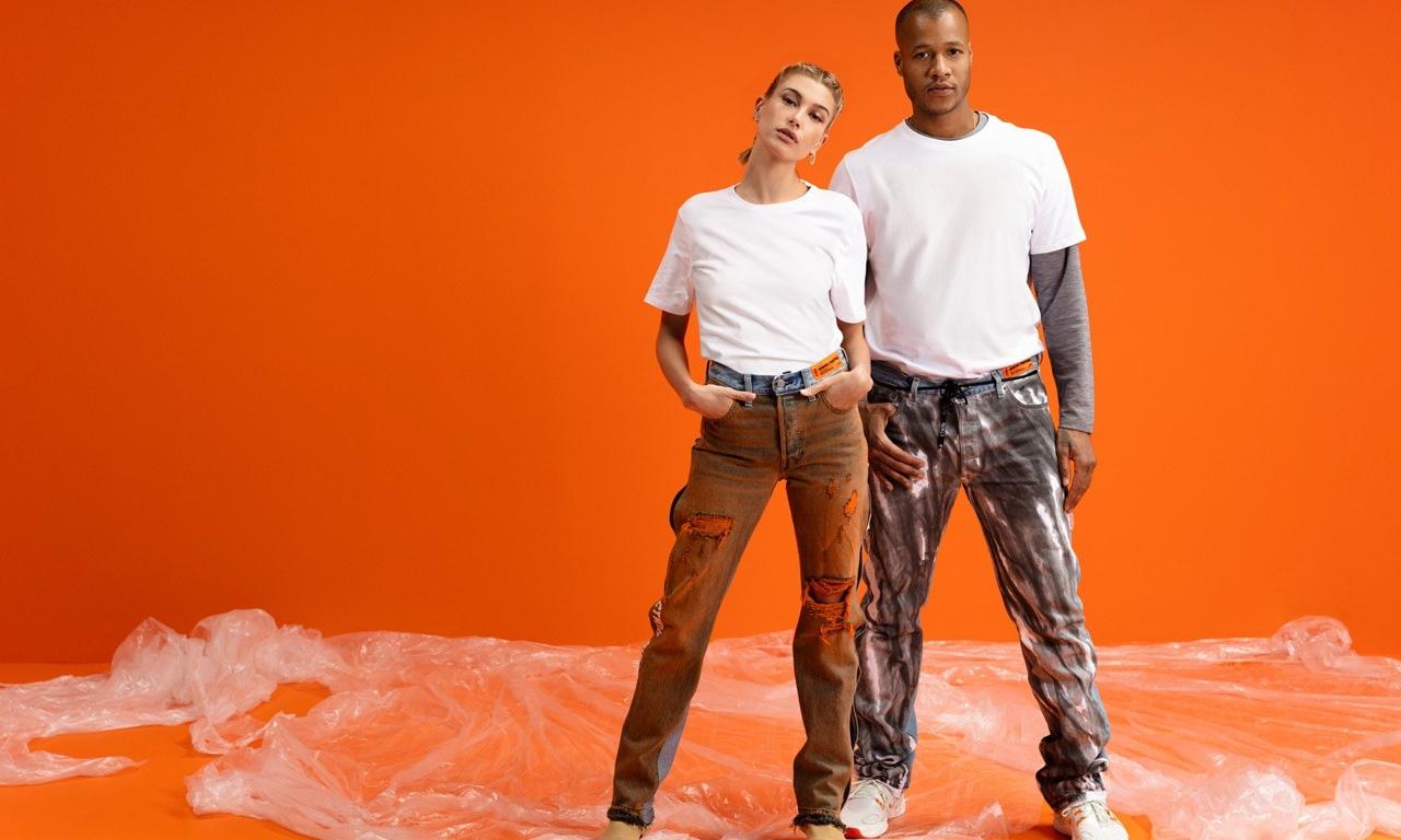 Heron Preston 重新演绎 Levi's 经典 501 牛仔裤型