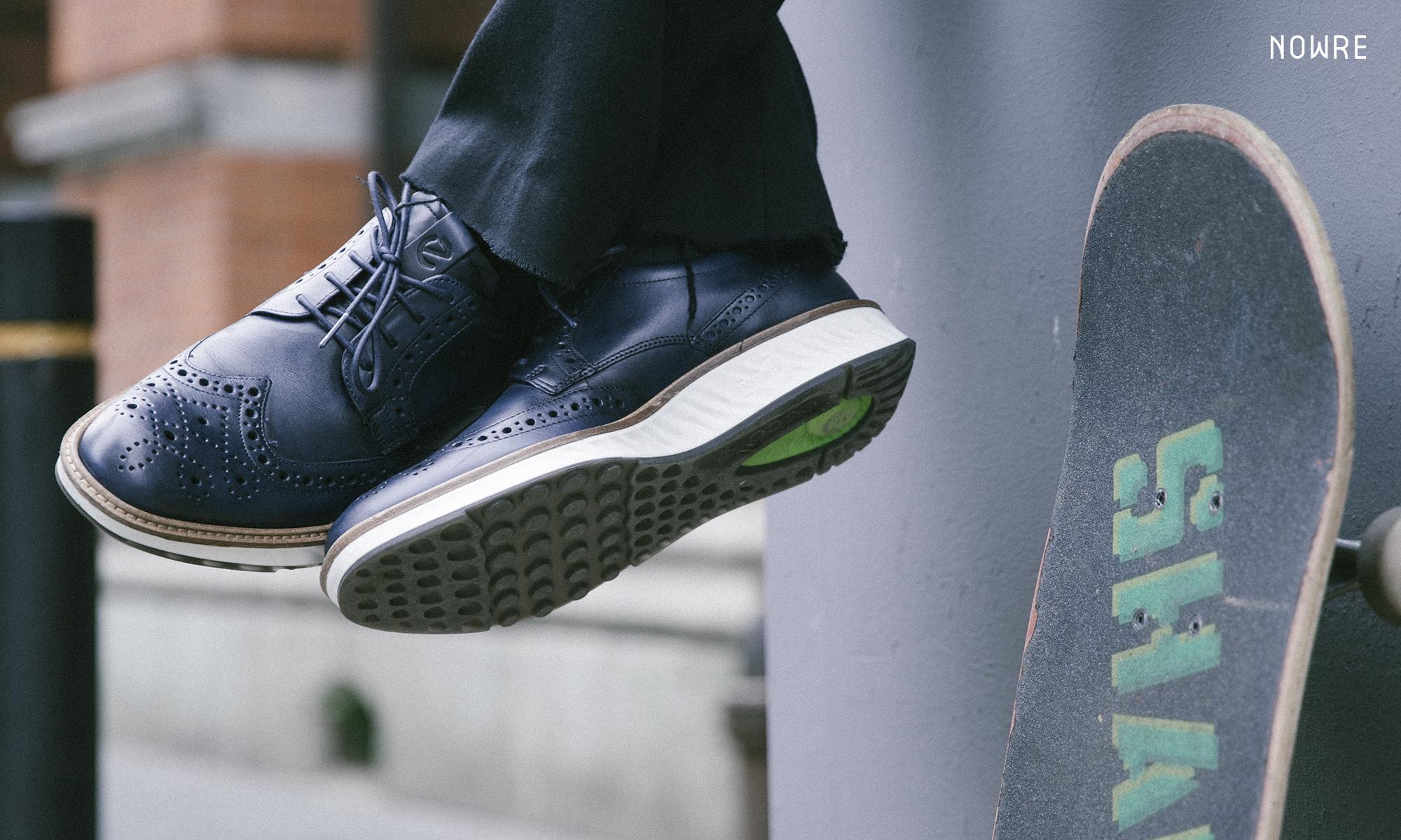 你可别被这双鞋的商务外表所欺骗…