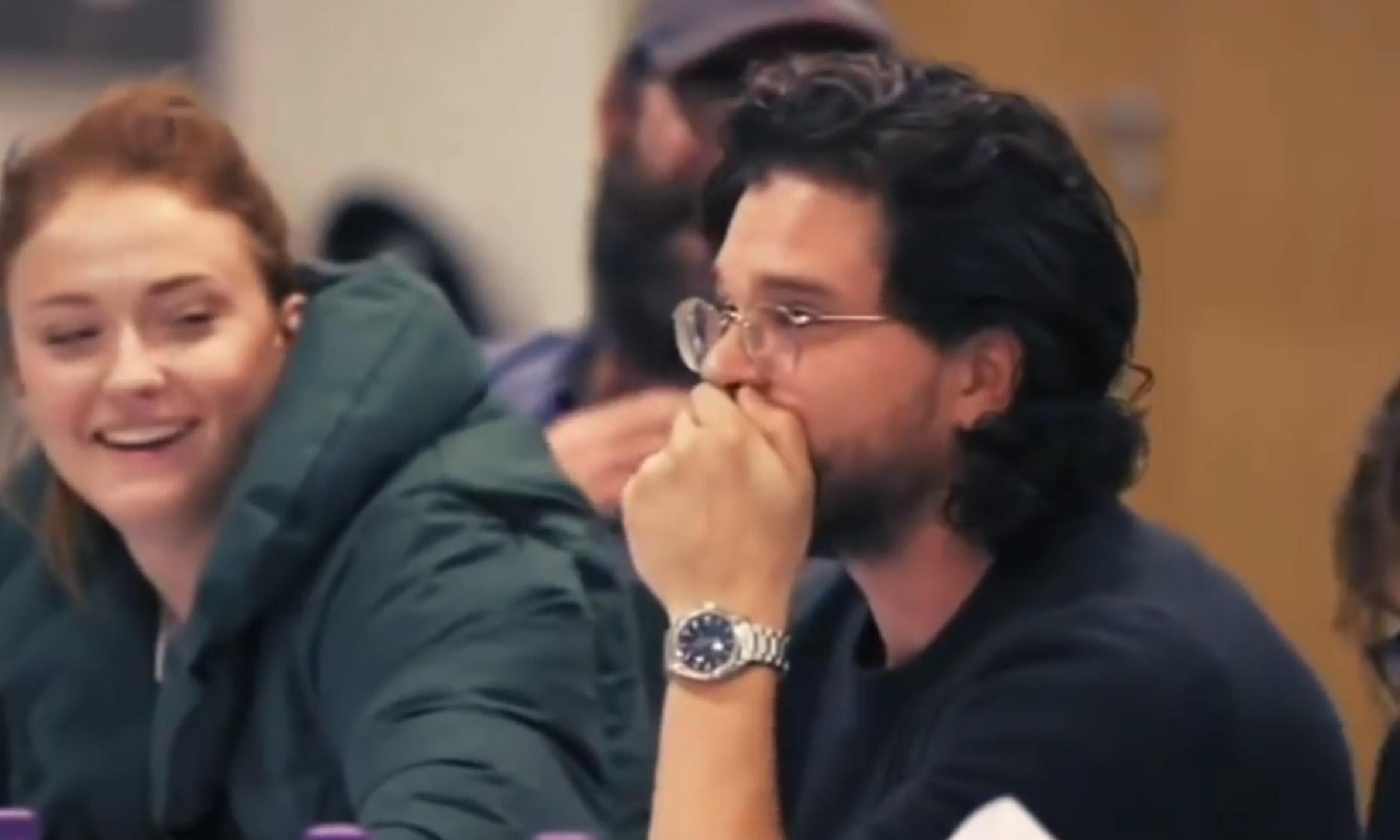 《权力的游戏》发布第八季对剧本幕后花絮,有欢呼也有悲伤