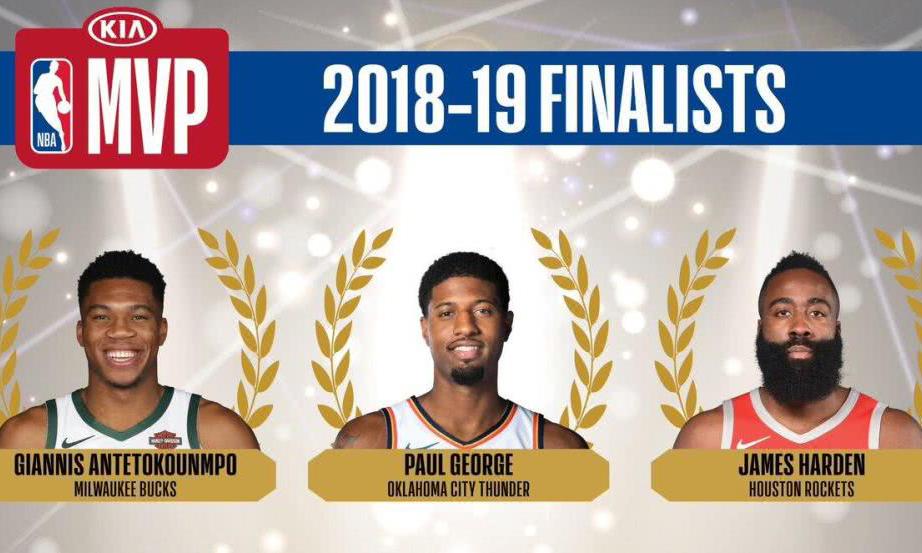 NBA 官方释出常规赛各奖项最名单