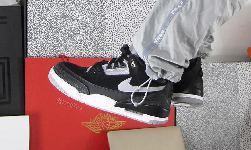 """手稿再现,Air Jordan III TH """"Black Cement"""" 配色曝光"""