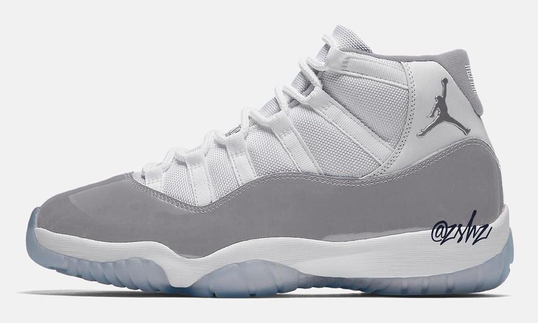 """女性专属 Air Jordan XI """"Vast Grey"""" 将于今年假日季发布"""