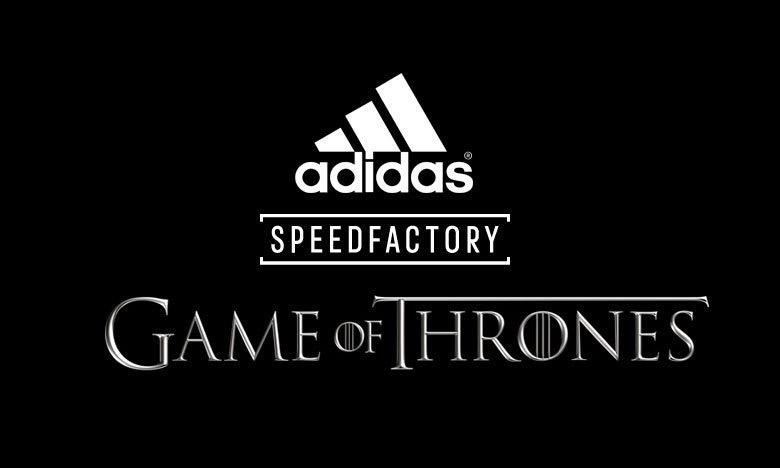 《权力的游戏》x adidas AM4GOT Speedfactory 即将发售