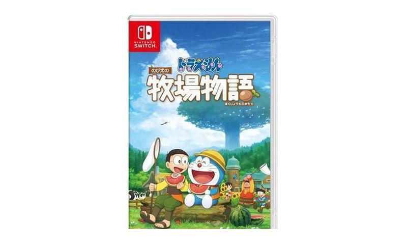 Switch 将发售《哆啦 A 梦 牧场物语》