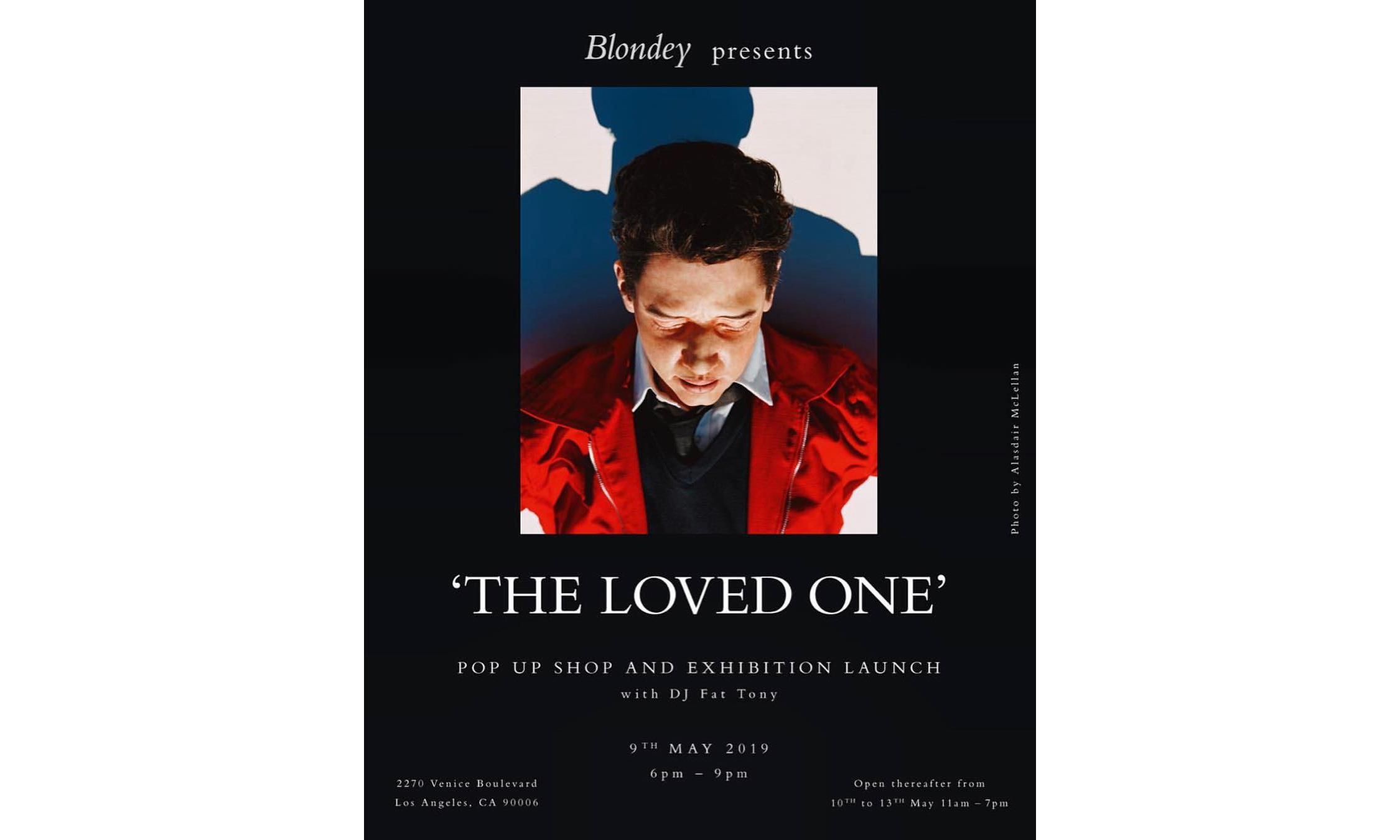 Blondey McCoy 将于洛杉矶办展并发售服饰单品