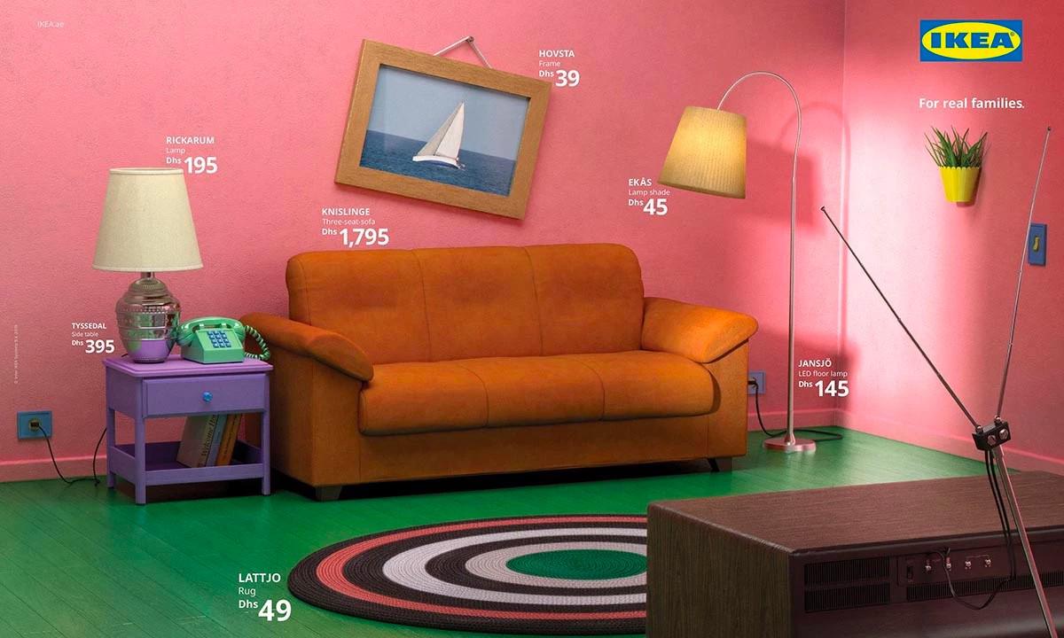 IKEA 以美剧场景为灵感重制室内设计