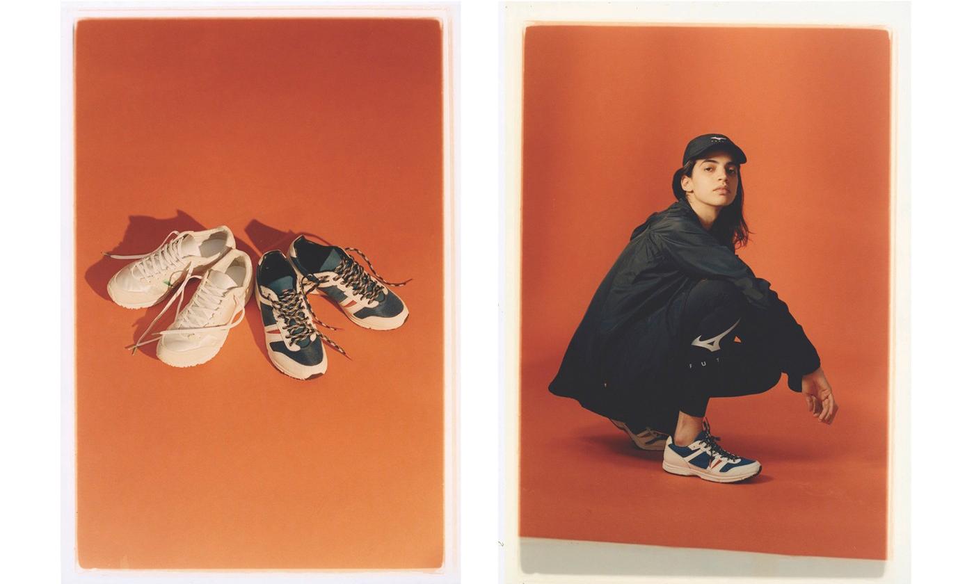 FUTUR 携手 MIZUNO 发布联名跑鞋
