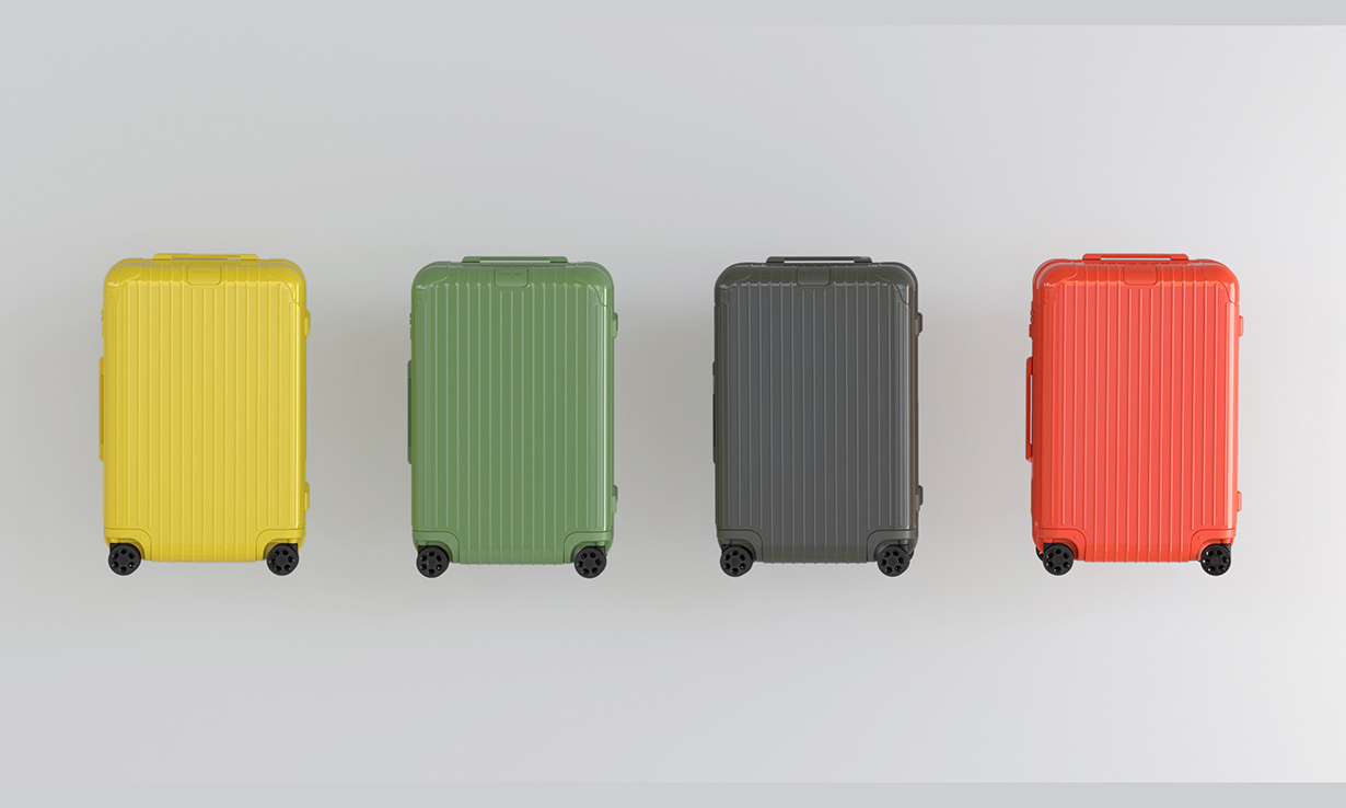 RIMOWA 彩色系列行李箱新品发售