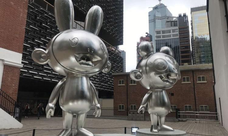 监狱变身美术馆,村上隆香港个展正式开幕