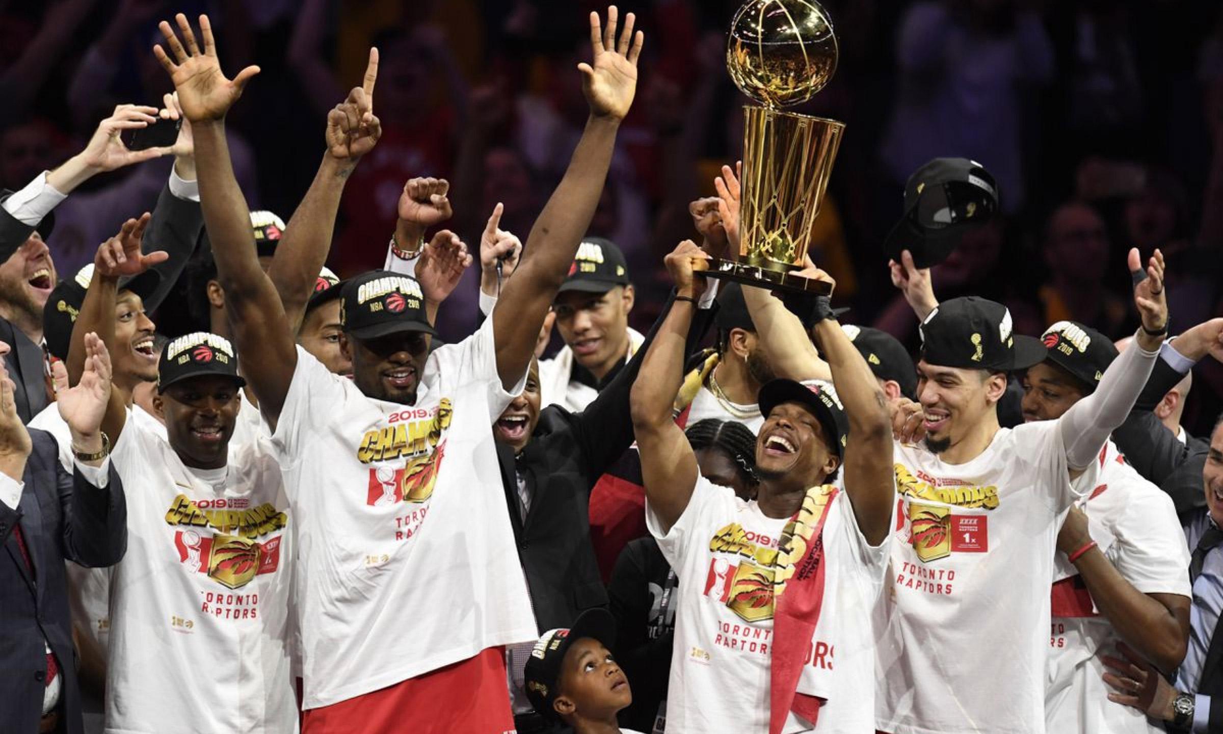 队史首冠!多伦多猛龙 4-2 战胜金州勇士拿下 NBA 总冠军